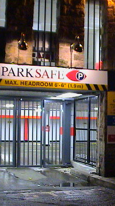 Derby Cathedral Car Park